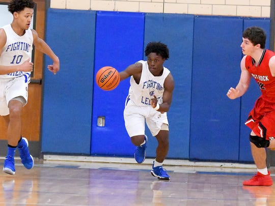 Robert E. Lee's Jahleel Pettiford takes off with the