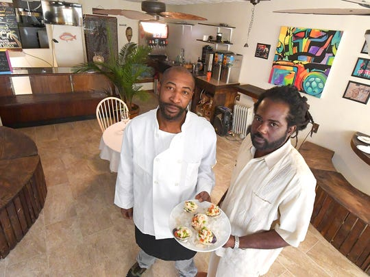 Jerome Dericho and Sunny Pepper are the owners of Island Sol Cafe, 302 N. Central Ave. in Staunton.