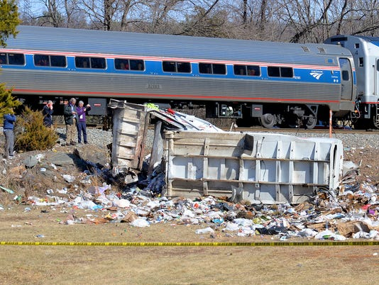 Train carrying GOP congressmen collides with dumptruck in Crozet
