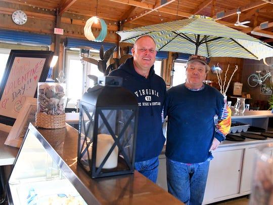 General manager Michael Garber and owner Garland Eutsler