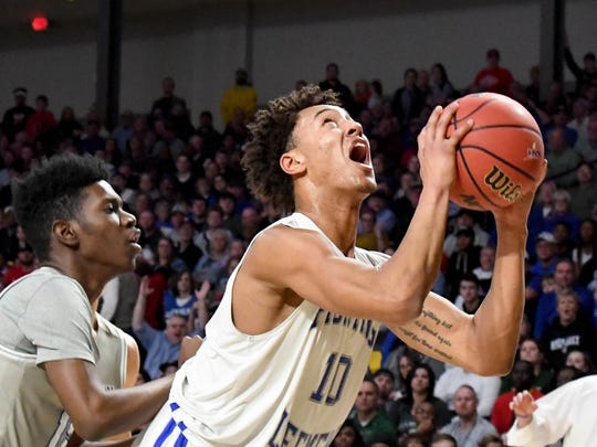 Former Lee High basketball star signs with Monmouth University.