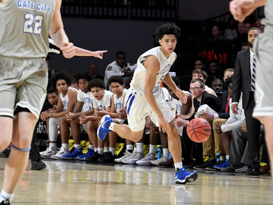 Robert E. Lee, which played for the state championship the past two seasons, will take part again this year in the Rock the Ribbon Roundball Shootout in Lexington.