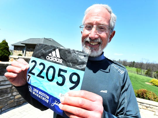 An avid runner, Roger Kuhlmann was hit by a bus in