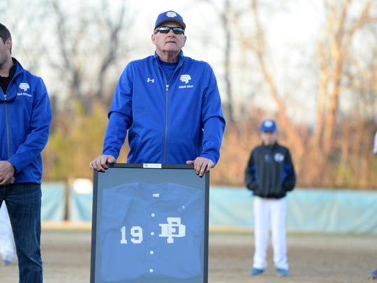 Bill Hale, who coached Fort Defiance baseball with