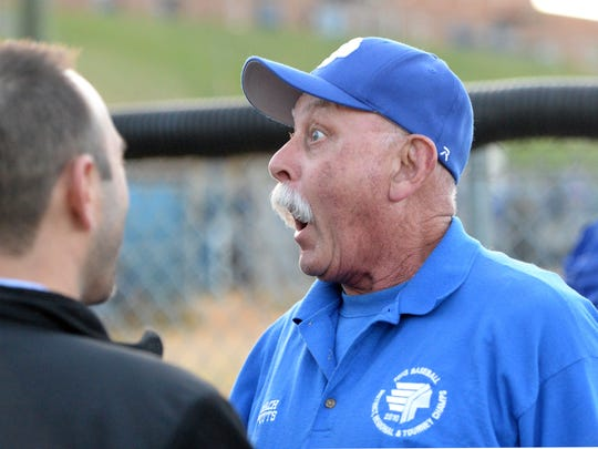 Vic Spotts, who was the Fort Defiance head baseball