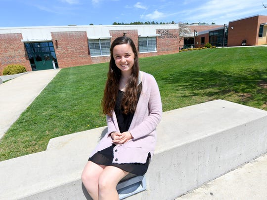 Senior Emma Nargi hopes to one day become a lawyer