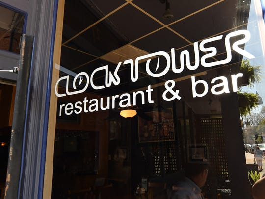 The Clocktower Restaurant & Bar in downtown Staunton.