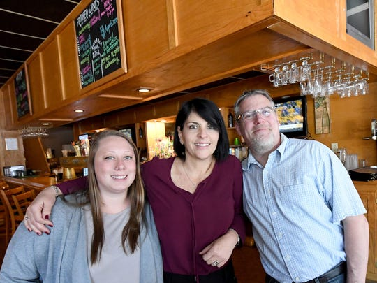 Alissa Ritchie, Lynda Andrae and Michael Andrae are the new co-owners of the Clocktower Restaurant & Bar. They are photographed together on Monday, April 30, 2018.