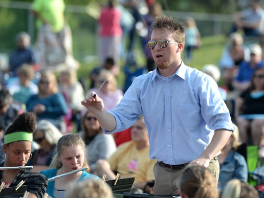 Steve Cash, the Stewart Middle School band director, came up with the idea for Beats and Eats three years ago.
