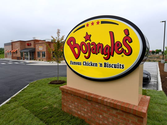 The new Bojangles' on Richmond Road in Staunton, photographed on Wednesday, May 16, 2018, is set to open this Saturday.