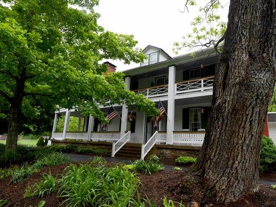 The Buckhorn Inn is located at 2487 Hankey Mountain