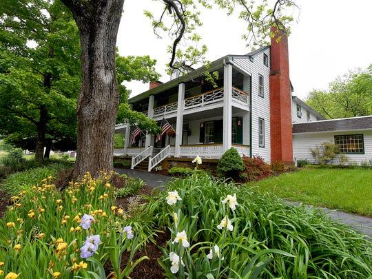 The Buckhorn Inn is located at 2487 Hankey Mountain Highway, west of Churchville.