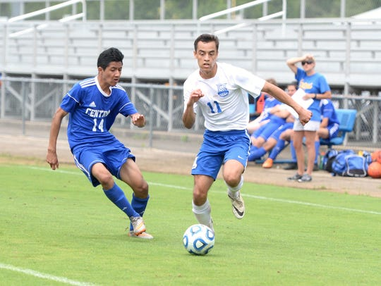 Marcos Sasia (11) is one of four Lee High players with