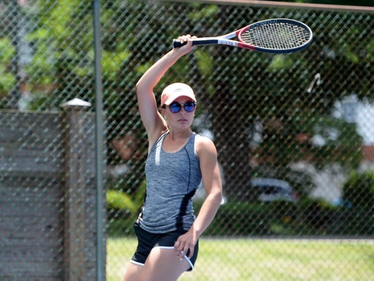 Riverheads junior Jessica Milo practiced at Gypsy Hill