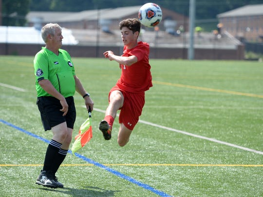 Riverheads' Jack Matherly was named to the first team of the VHSL Class 1 all-state boys soccer team.