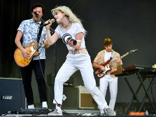 Paramore performs during the Bonnaroo Music and Arts