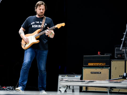 Sturgill Simpson performs during the Bonnaroo Music