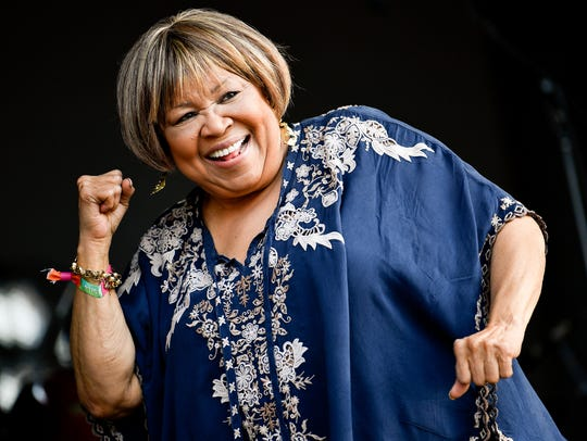 Mavis Staples performs during the 2018 Bonnaroo Music & Arts Festival in Manchester, Tenn.