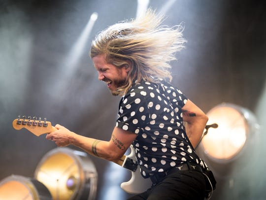 Moon Taxi performs during the Bonnaroo Music and Arts