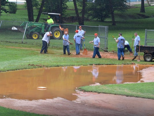 Flood Cleanup at Gypsy Hill Park