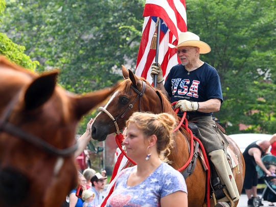 The Happy Birthday America Parade made its way through Gypsy Hill Park in Staunton on Wednesday, July 4, 2018.