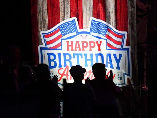 Wilson Fairchild rocks Happy Birthday America