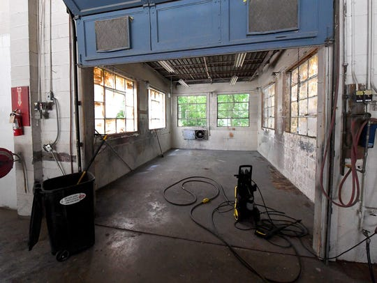 Inside the space being developed at 20 South Jefferson