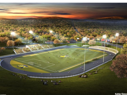 A conceptual rendering of Mary Baldwin's new soccer