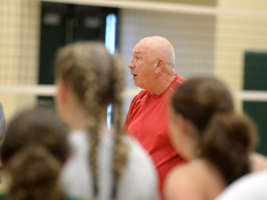 Matchpoint Volleyball's Steve Colpus conducted a camp at Wilson Memorial High School this past weekend for players from Wilson, Fort Defiance and Waynesboro.