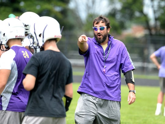 Following four seasons as Waynesboro's offensive coordinator,