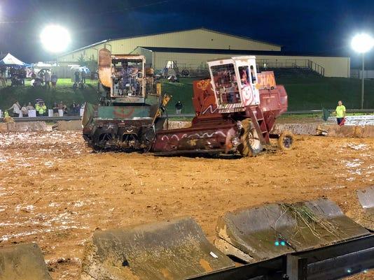 Demolition Derby at Augusta Co. Fair