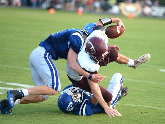 Fort Defiance's defense was tough all night in stopping
