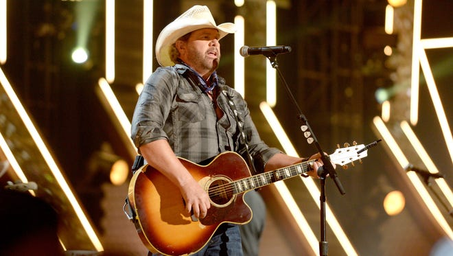 Toby Keith at American Country Countdown Awards on May 1, 2016 in Inglewood, Calif.