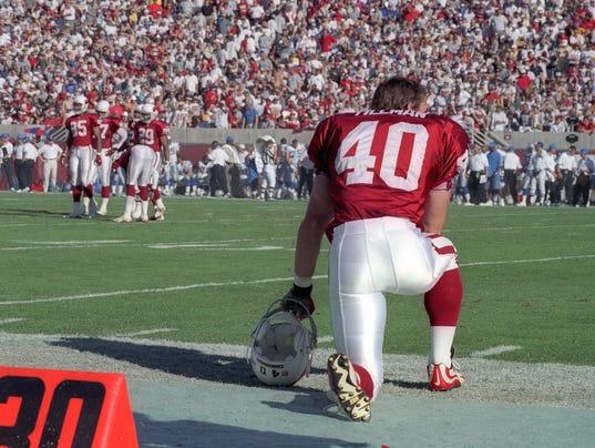 NFL: Former Arizona Cardinals defensive back Pat Tillman