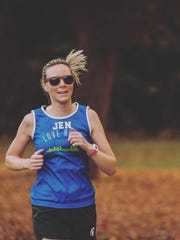 Jennifer Mitchell, the New Balance Runner of the Week.