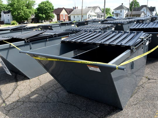 The Coshocton County Recycling and Litter Prevention dumpsters stored off Walnut Street will be replacing the current recycling trailers out in the county and will be part of story.