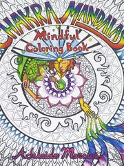 """""""Chakra Mandalas Mindful Coloring Book"""" by Adelaide Marcus"""