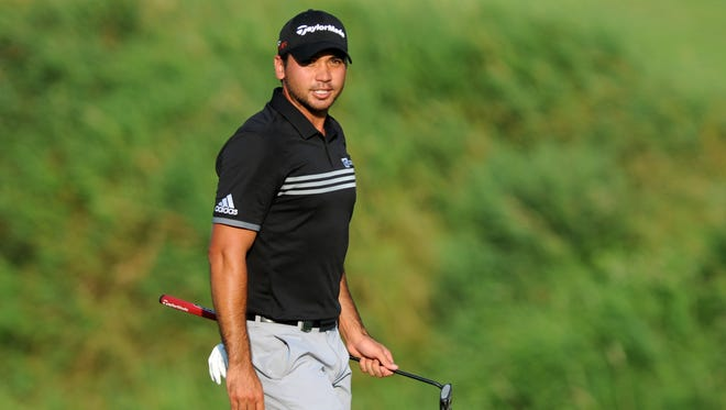 Jason Day walks to the 18th green during the final round of the 2015 PGA Championship.