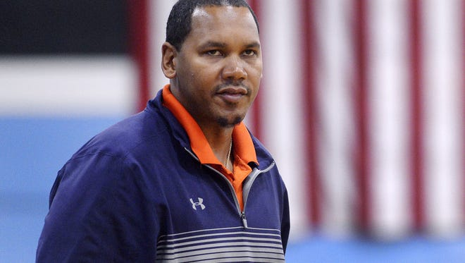Ryan Blackwell, the former Syracuse basketball star, now coaches Liverpool High.