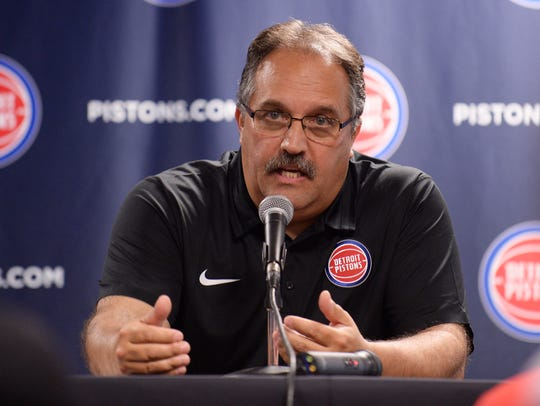 Stan Van Gundy and the Pistons got off to a hot start