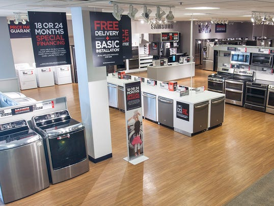 Meridian Mall J C Penney To Unveil Major Appliance Showroom