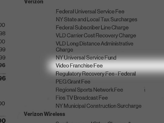 David Mckay Wilson's telephone bills on Apr. 4, 2017.