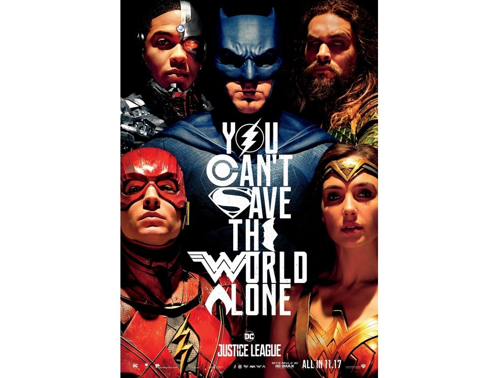 See the Justice League: Batman, Wonder Woman, Aquaman, Cyborg and the Flash at a discounted price.