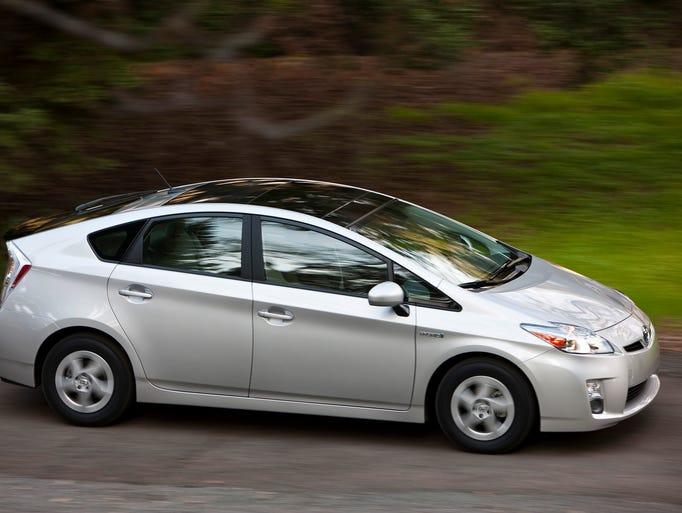 USAA has named its 10 best values in cars. The best value in small sedans is Toyota Prius.