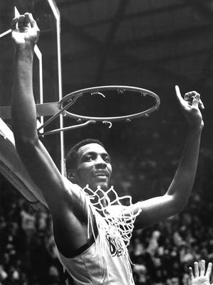 Greg Kelser was a star before Magic Johnson arrived at MSU. When Magic did, the duo – and Jay Vincent – led the Spartans to their first national championship in 1979.