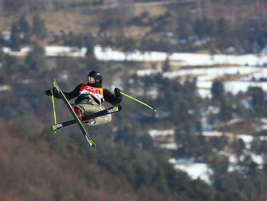 Mexico's Robert Franco competes in the men's slopestyle