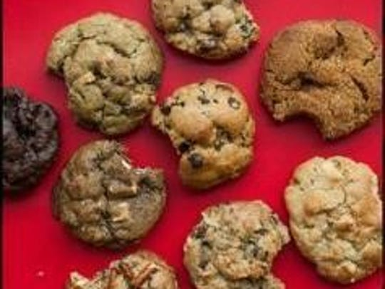 Bang cookies are fresh and delicious.