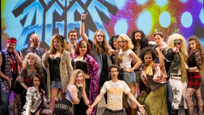 "The Hub City Players will present ""Rock of Ages"" June 9-11 at Mannoni Performing Arts Center as part of FestivalSouth."
