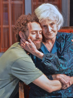 """Zachary Hallett and Ivy Jones star in the Coachella Valley Repertory production of """"4,000 Miles."""""""