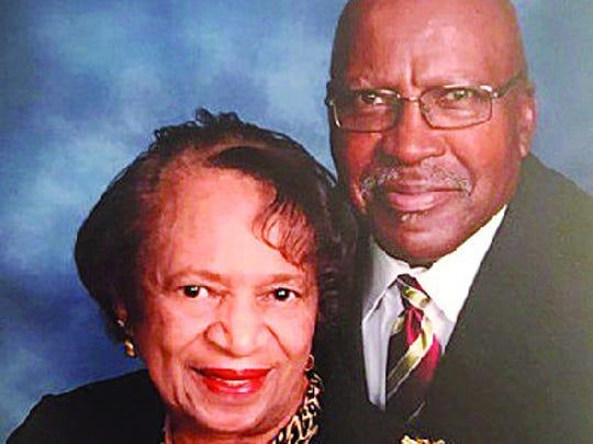 Pete and Doris Frieson anniversary